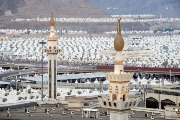 Tenda jamaah haji di Arafah