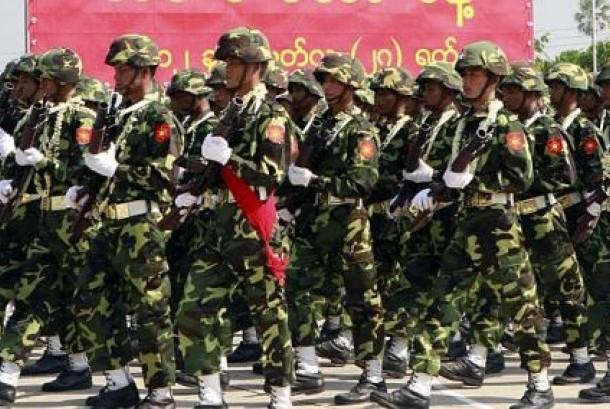 Myanmar's military.