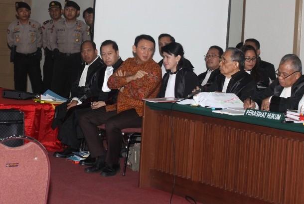 Terdakwa kasus dugaan penistaan agama Basuki Tjahaja Purnama atau Ahok (Ilustrasi)