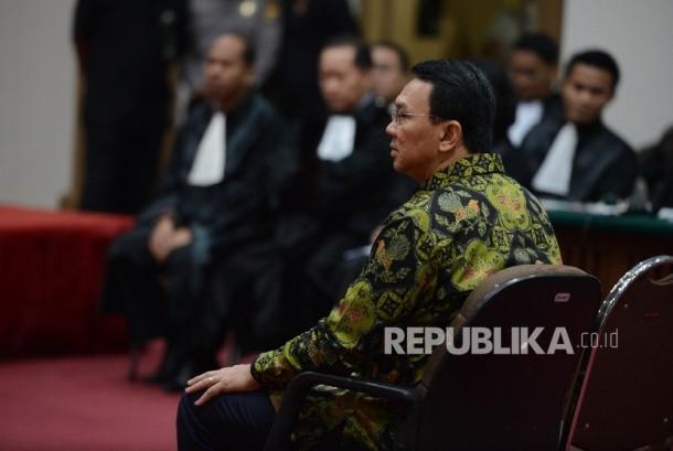 Terdakwa kasus dugaan penistaan agama Basuki Tjahaja Purnama