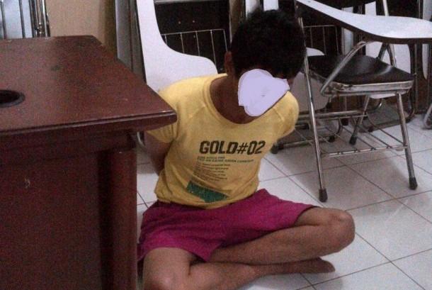 Tersangka pelaku penculikan bocah Jm, Begeng