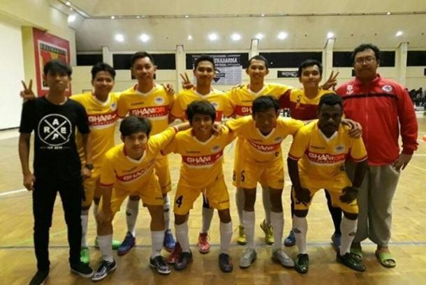 Tim BSI FC (BinaSarana Informatika Futsal Club).