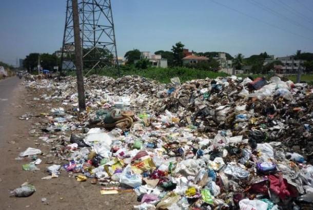 Tumpukan sampah (ilustrasi)