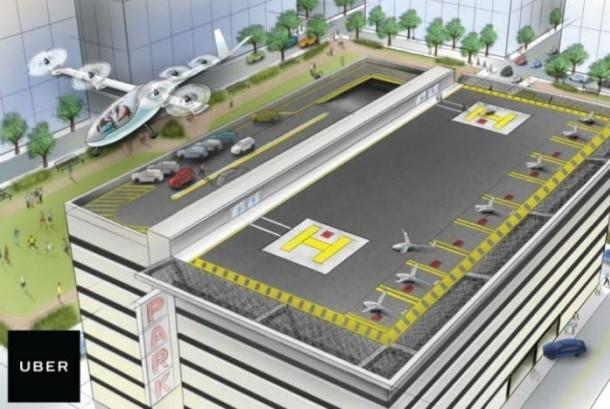 Uber berencana meluncurkan mobil terbang pada 2020.