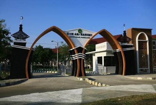UIN Ar-Raniry, salah satu kampus negeri di Provinsi Aceh.