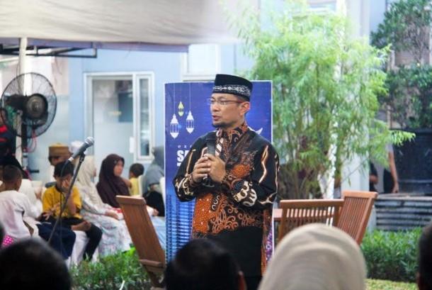 Ustaz Wijayanto mengisi tausyiah (Ilustrasi)