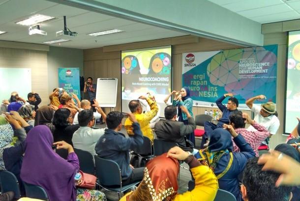 Vanaya Coaching Institute menginisasi terbentuknya asosiasi Sintesa (Sinergi Terapan Neurosains Indonesia) di Jakarta, Kamis (27/4).