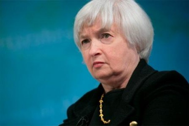 Gubernur Bank Sentral Amerika Serikat (AS) Janet Yellen.