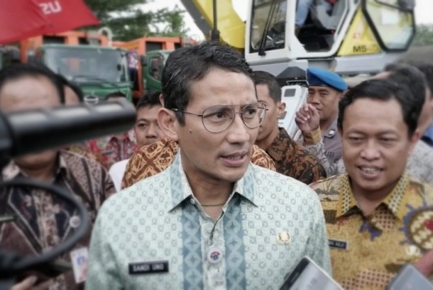 Jakarta deputy governor Sandiaga Uno