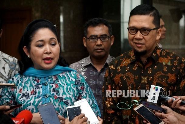 Vice Chairman of Golkar's Board of Experts Titiek Soeharto