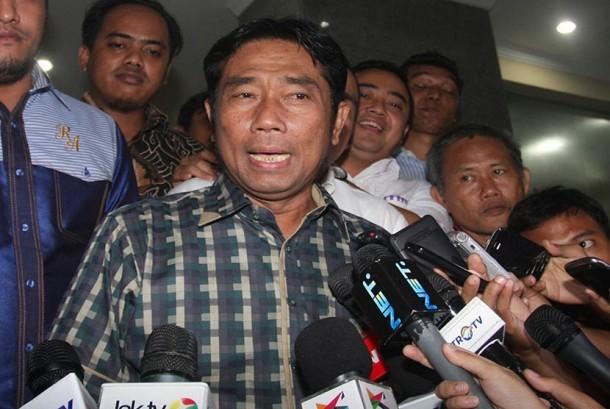 Wakil Ketua DPRD DKI Jakarta Abraham Lunggana atau Haji Lulung.
