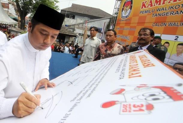 Wali Kota Tangerang Arief R. Wismansyah