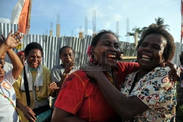 Masyarakat Papua (ilustrasi)