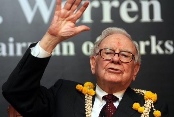 Warren Buffet, salah satu orang kaya dunia dengan sikap hidup sederhana.