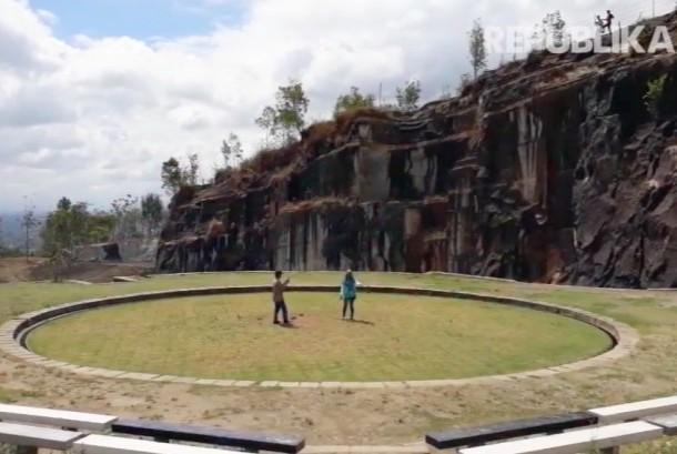Wisata Geologi Tebing Breksi di Sleman, Yogyakarta