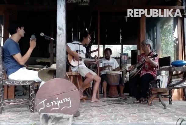Wisata seni musik Bale Jukung, Lombok Utara