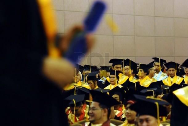 Wisuda lulusan Perguruan Tinggi.    (ilustrasi)