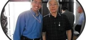 Asep Sapaat bersama Kubochi sensei