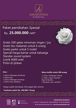 Pesta Pernikahan Nan Keren Di Hotel Amaroossa Bandung Republika Online