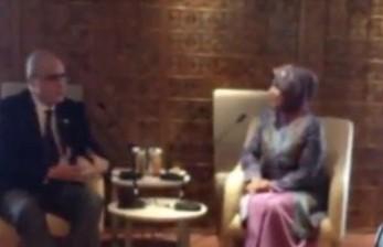Badan Kerja Sama Antar Lembaga Parlemen (BKSAP) menerima kunjungan duta besar Georgia untuk Indonesia, Zurab Aleksidze.