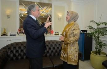 Ketua BKSAP DPR RI Nurhayati Ali Assegaf menerima kunjungan Dubes Chile
