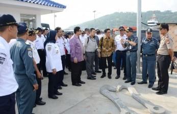 Komisi V DPR RI meninjau meninjau Bandara Radin Inten II dan Pelabuhan Bakauheni di Lampung