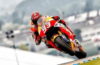 Keberuntungan Milik Marquez di Le Mans
