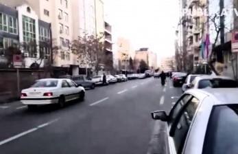 Suhu Udara di Teheran Capai Satu Derajat Celcius