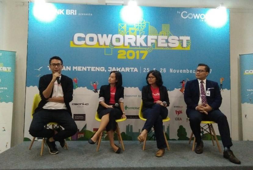 Kolaborasi BRI-Coworking Space dalam 'Coworkfest 2017'