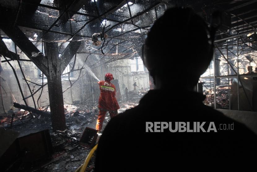Kebakaran di Museum Bahari Diduga Akibat Korsleting Listrik