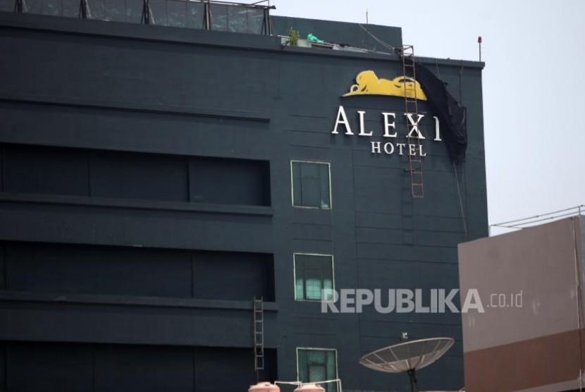 Gedung Hotel Alexis, Jakarta, Selasa (31/10).