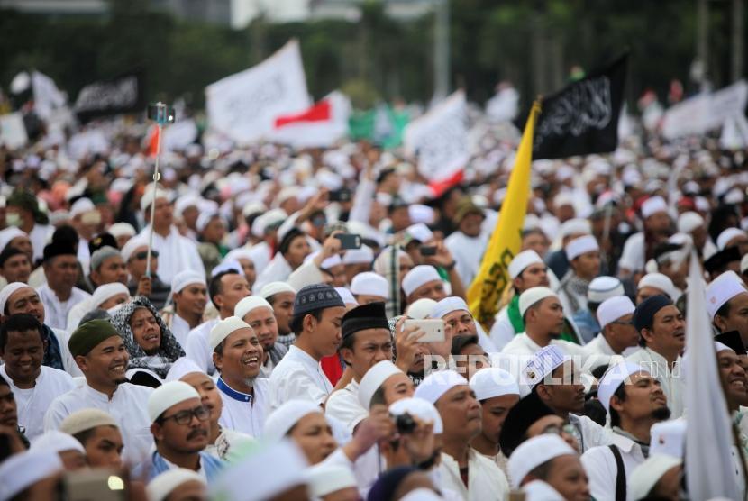 Polisi: Peserta Reuni Akbar 212 Juga Datang dari Sumatera