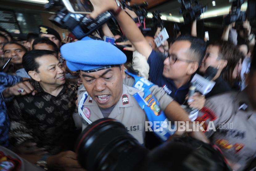 Eksepsi Ditolak Hakim, Kuasa Hukum Novanto Siapkan Pembelaan