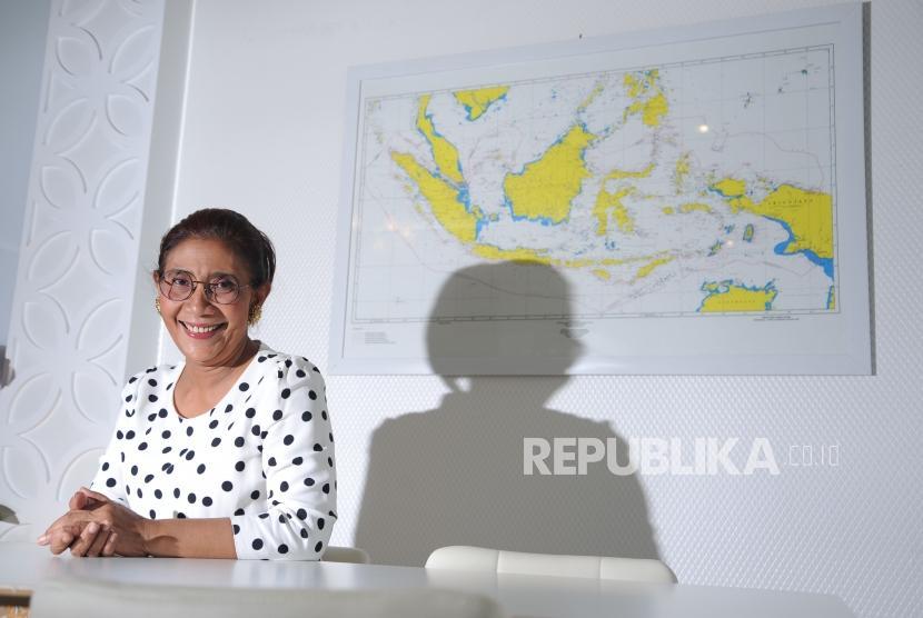 Menteri Kelautan dan Perikanan RI,  Susi Pudjiastuti