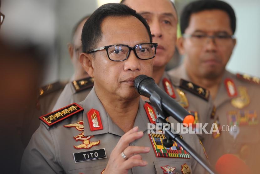 Kapolri Jendral Polisi Tito Karnavian.