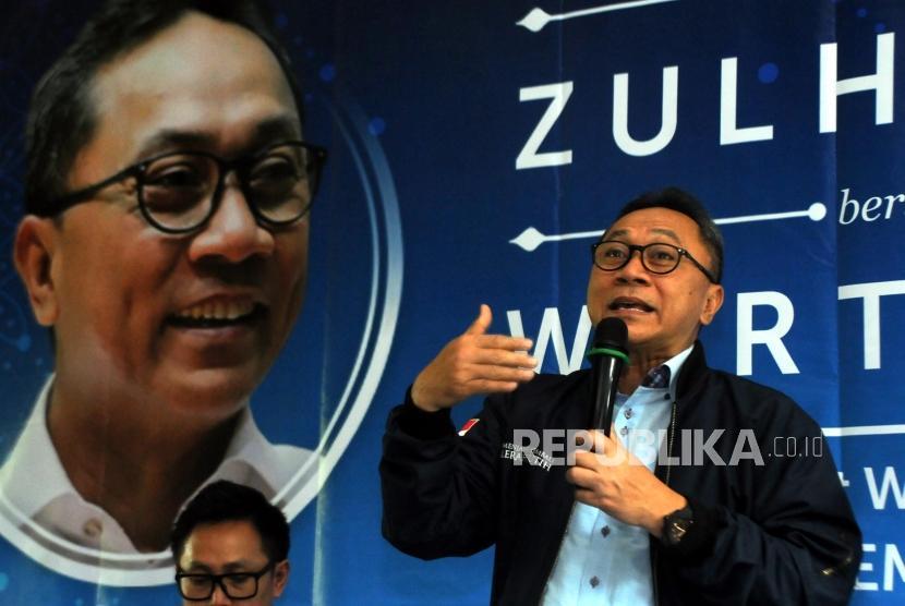 Ketua Umum DPP PAN Zulkifli Hasan