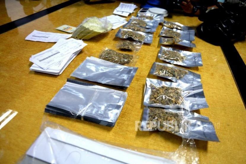 Barang bukti narkoba (ilustrasi)