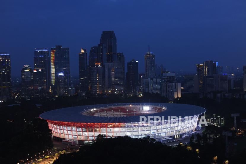 Jokowi Puji Hasil Renovasi Stadion Utama GBK