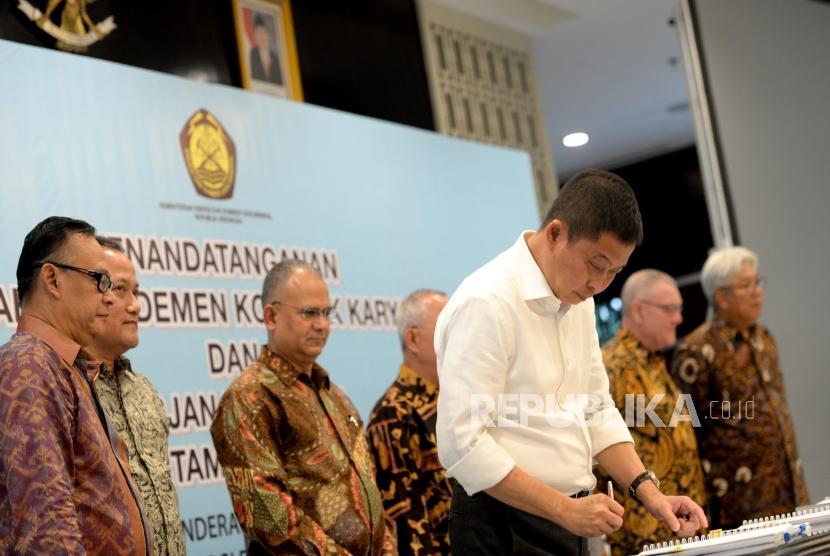 Amendemen Kontrak Karya Tambah Penerimaan Negara