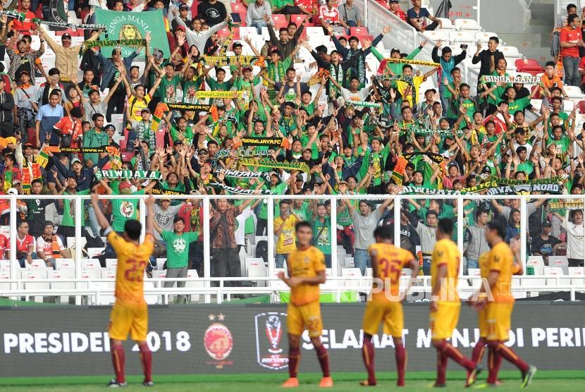 Tim Sriwijaya FC (ilustrasi)