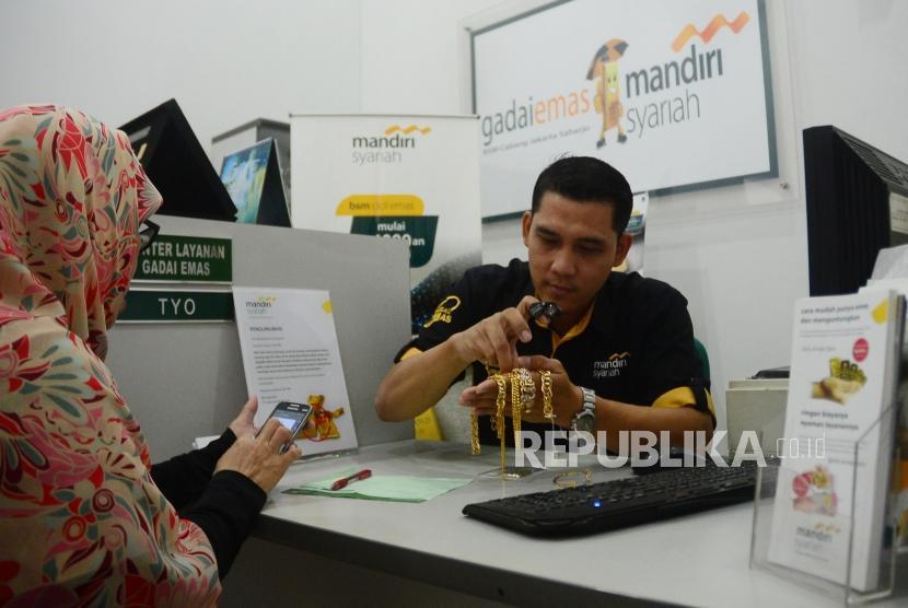 Mandiri Syariah Targetkan Gadai Emas Rp 3 Triliun
