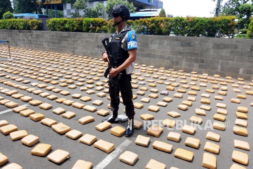 Bandar Narkoba Pelaku Pemukulan Brigadir Rizal Ditembak Mati