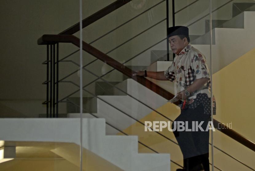 Istri: Ade Komaruddin tidak Jatuh di Kamar Mandi