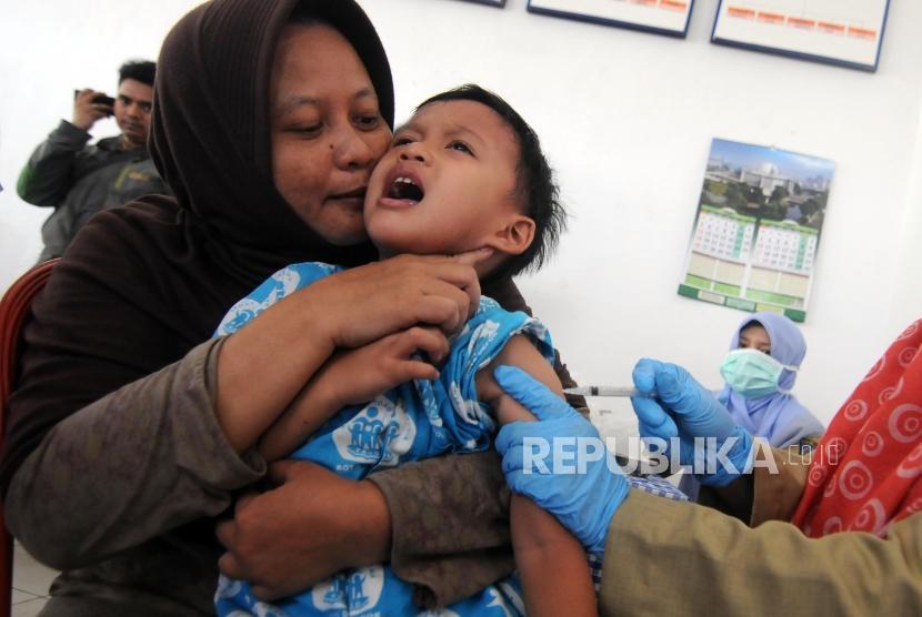 Hari Ini Imunisasi Difteri Serentak Digelar di Tanggerang