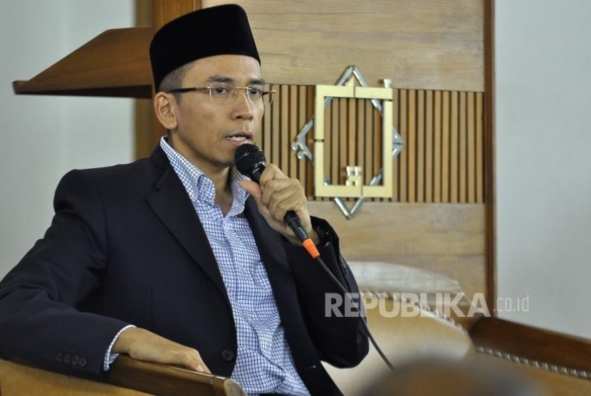Gubernur Nusa Tenggara Barat TGH M Zainul Majdi.