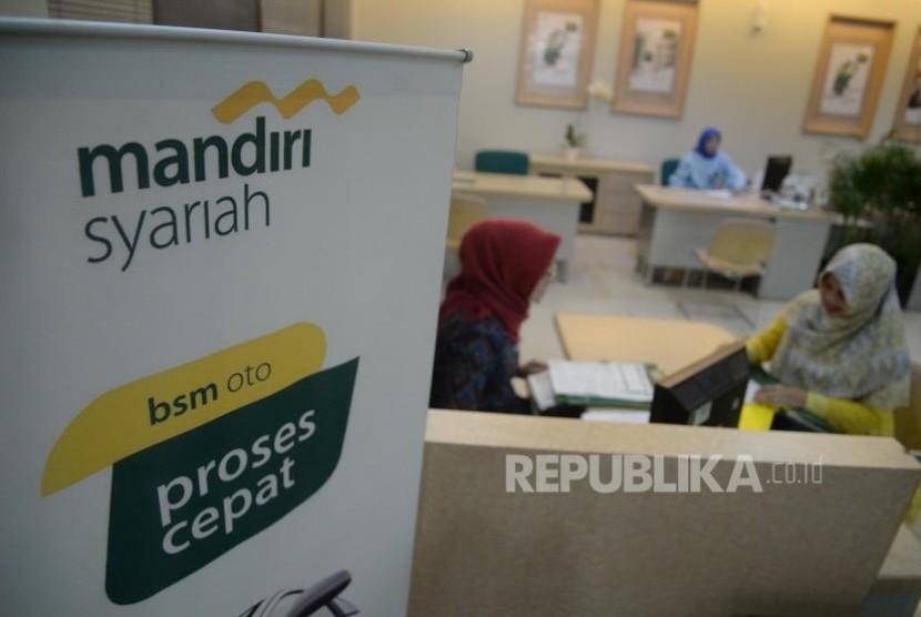 Aktivitas perbankan di Bank Syariah Mandiri