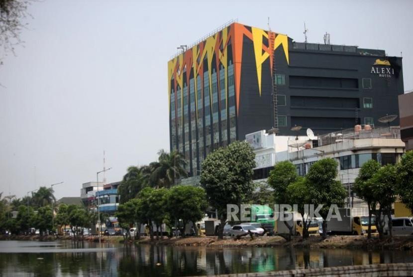 Alexis hotel, North Jakarta.