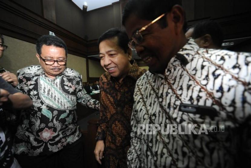 Hakim Buka Peluang Novanto Kembali Bersaksi di Pengadilan