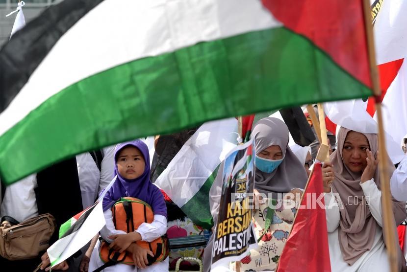 Aksi Damai Bela Palestina