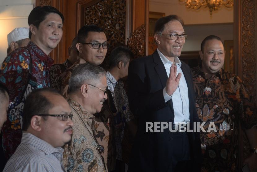 Anwar Ibrahim Kunjungi PBNU untuk Bahas Islam yang Damai